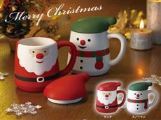 クリスマスドールマグカップ