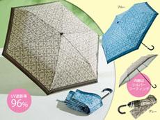 アラベスク晴雨兼用折り畳み傘