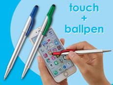 メタルボールペン+タッチペン