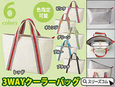 【色指定可能】クーラーバッグ+トートバッグ
