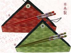 日本製マイ箸風花小紋袋セット