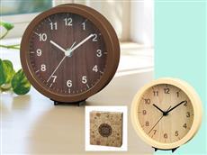 記憶に残るナチュラルライフ置時計