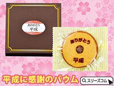 平成グッズ:焼き菓子(バームクーヘン)
