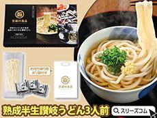 特選食品ギフト:特別製法讃岐うどんと極旨汁セット3