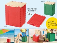 座れる強度の折り畳みBOX
