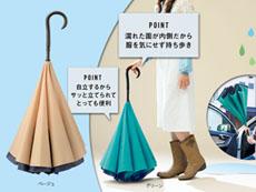 さかさま立て傘