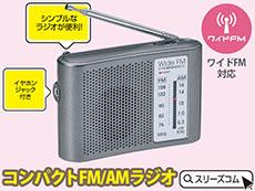 周波数指定可能ワイドFMラジオ