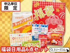 正月福袋 富士山袋:日用品6セット
