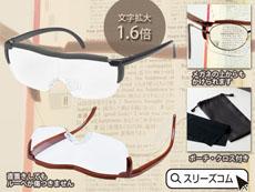 メガネ式虫眼鏡ゴーグル