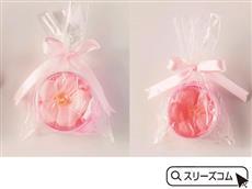 花の形の紙桜せっけん
