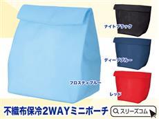 保冷温:封筒形カラーバッグ