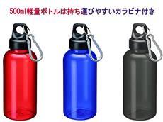 話題のマイボトルにクリアマリンボトル(500ml)
