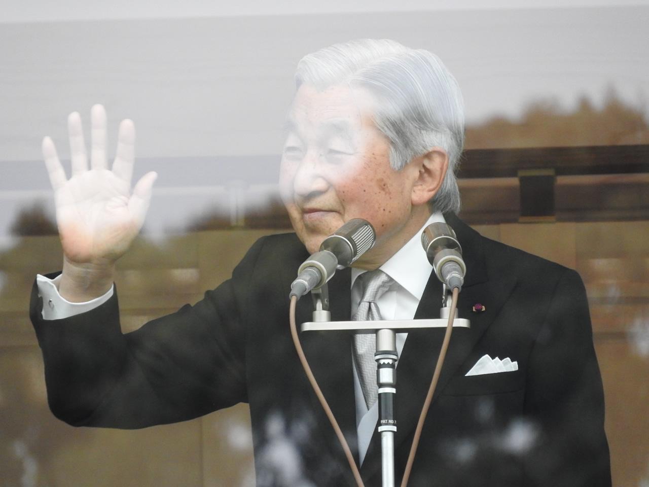 平成天皇は年齢82歳